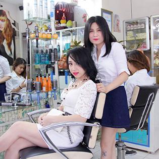 Uốn/Duỗi/Nhuộm + Cắt + Gội + Sấy Tại Hair Salon Cường Nguyễn