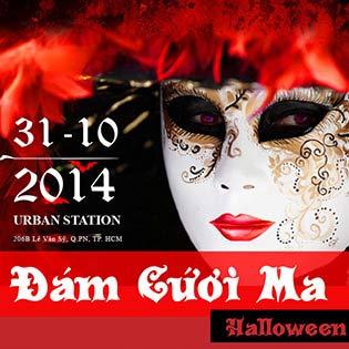 01 Vé Tham Dự Tiệc Halloween với F- Band + 01 Thức Uống Tại Urban Station Coffee