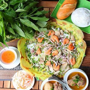 Set Ăn Cho 2 Người Tại Bánh Xèo Bà Hai Chi Nhánh 3 tại Hồ Chí Minh