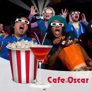 Thỏa sức xem Phim,  Ăn uống  –  OSCARS cinema café phim 3D