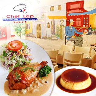 Chef Lập - Gà Nướng Pháp - Poulet De France