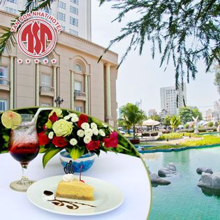 Combo Bánh Tiramisu + Thức Uống Đẳng Cấp 5* Garden Café TSN