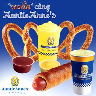 Hệ Thống Bánh Auntie Anne's – Thương Hiệu Nổi Tiếng Toàn Cầu tại Hồ Chí Minh
