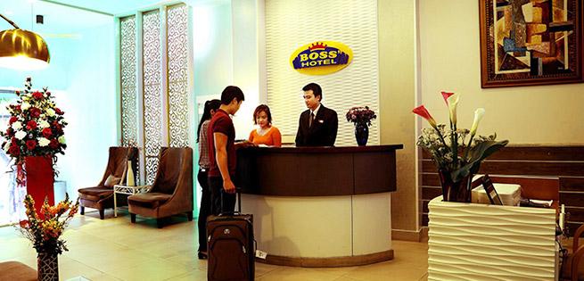 Boss 3 Hotel 2* Không Phụ Thu Cuối Tuần tại Hồ Chí Minh