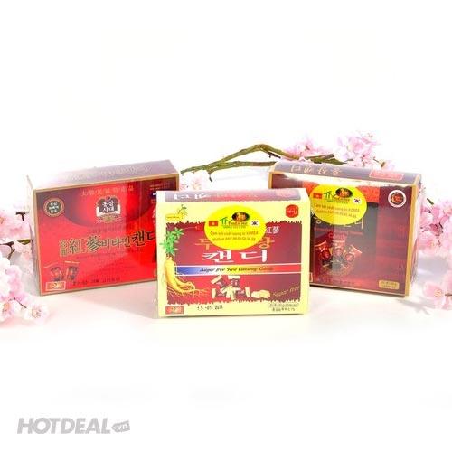 Combo 3 Hộp Kẹo Hồng Sâm Nhập Khẩu Hàn Quốc