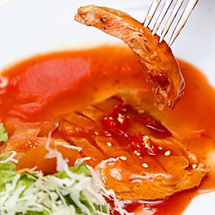 Gà nướng Teriyaki / Gà Nướng Cay / Pizza Hải Sản Tại Nhà Hàng Top tại Hồ Chí Minh