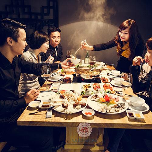 Buffet Nướng Lẩu Hàn Quốc Sariwon(Tặng Pepsi Tươi)