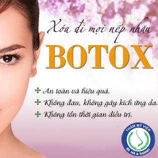 Xóa Nhăn Bằng Botox Tại Thẩm Mỹ BS Hà Thanh