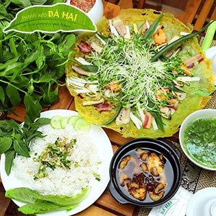 Set Cơm Việt Trưa Hoặc Tối Tại Bánh Xèo Bà Hai Chi Nhánh Miếu Nổi tại Hồ Chí Minh