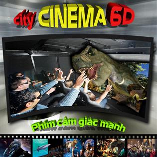Combo 2 Vé Xem Phim 6D Tại Time City Và Royal City