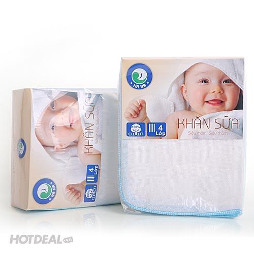 Combo 20 Khăn Sữa Sơ Sinh Cao Cấp Nana