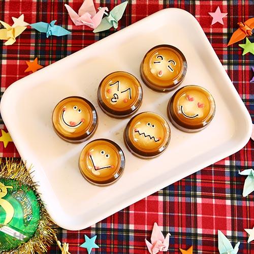 Hộp 6 Rau Câu Bánh Flan Lá Dứa/Cà Phê Tại Tiệm Bánh Love Cake