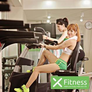 Thẻ Tập Trọn Gói Các Dịch Vụ Tại X - Fitness - Số 19 Hàng Bài