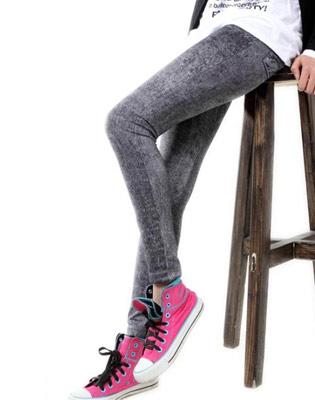 Quần Legging Giả Jean 2014