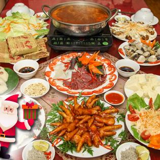 Chào Giáng Sinh Với Set Lẩu Kim Chi Đầy Đặn, Mới Lạ 4N tại Hồ Chí Minh