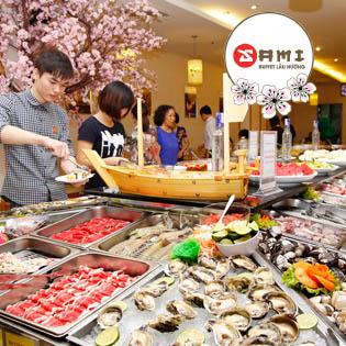 Khám Phá Thế Giới Ẩm Thực Nhật Bản - Buffet NH Sami
