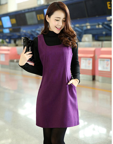 Váy Dạ Mix Colour Cao Cấp