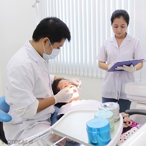 Tẩy Trắng Răng Bằng Công Nghệ Bleachbright Tại Nha Khoa Cercon
