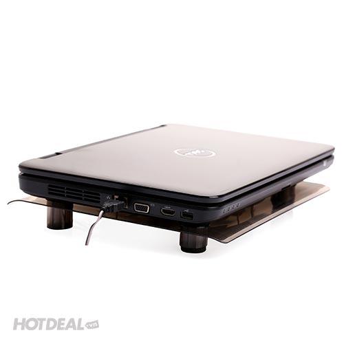 Đế Tản Nhiệt Trong Suốt King Master NC-10A Cho Laptop