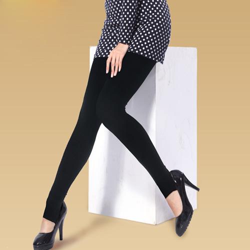 Thon chân gọn đùi với quần tất gen Elegant Hàn Quốc