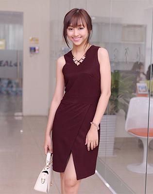 Đầm Cách Điệu Tà Đắp tại Hồ Chí Minh
