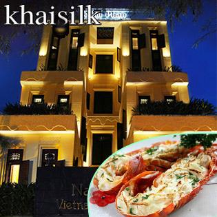 KhaiSilk-NamPhan Buffet Hải Sản Đêm Noel Và Tết Tây tại Hồ Chí Minh