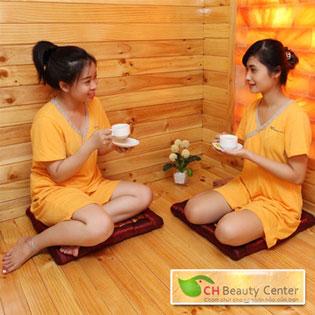 Sauna+Foot & Massage Body Đá Muối Hymalaya 100' CH Beauty Center tại Hồ Chí Minh
