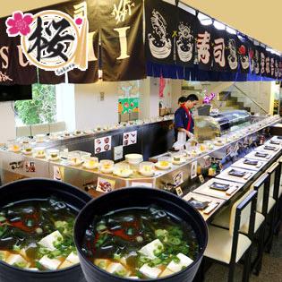 Buffet Sushi Băng Chuyền Free Nước + Khăn + Canh Nhật tại Hồ Chí Minh