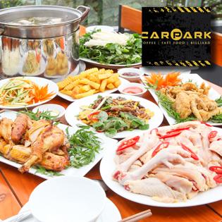 Set Gà 6 Món Cho 6 Người Ăn Tại Car Park Club