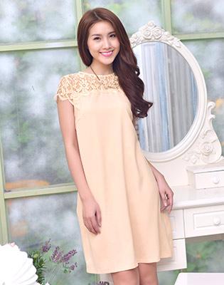 Đầm Form Suông Zara Phối Ren tại Hồ Chí Minh