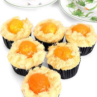 Combo 6 Bánh Bông Lan Trứng Muối Nhân Phô Mai/ Xá Xíu tại Hồ Chí Minh