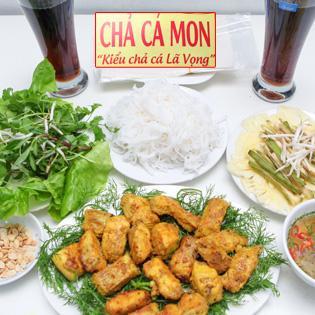 Set Cá Nướng Cuốn Cho 2N - Quán Nướng Mon