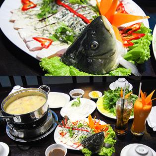 Cá Chép Nhúng Mẻ + Nước Uống Cho 2 Người Tại Rainbow Restaurant