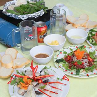 Set Nầm Bò Nướng 2N + Đồ Uống Tại Ẩm Thực Việt