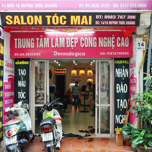 Tóc Xinh Xuống Phố Với Mai Salon, Tặng Kèm Bảo Hành