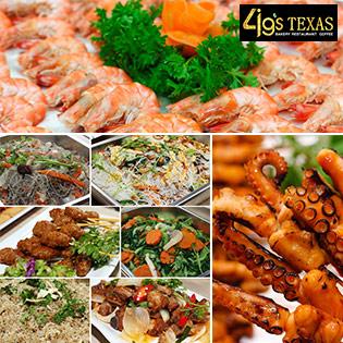 Buffet Trưa 4G's Texas Restaurant