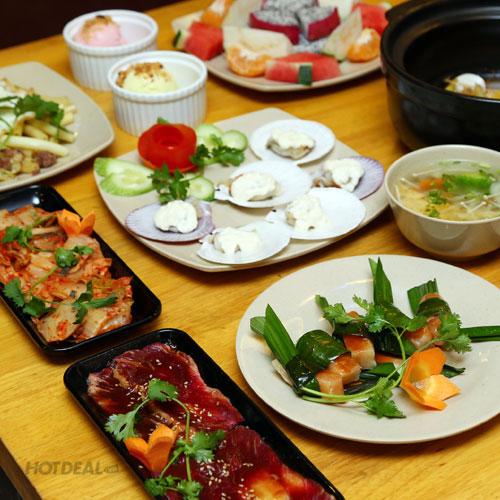 Combo Thịt Nướng Seoul/Tapu/Pasta Italian/ Saigon Chào Mừng Giáng Sinh, Tết Tây