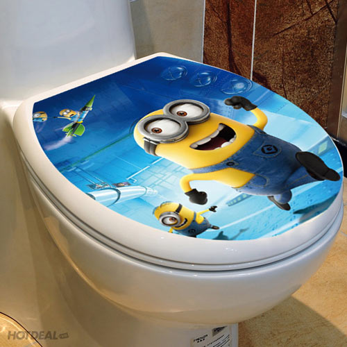 Combo 2 Giấy Dán Nắp Toilet Mẫu Mới 2014