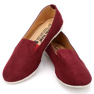 Giày Lười Nữ Khải Nam Màu Tím BH 6 Tháng