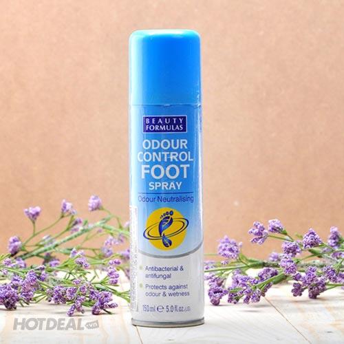 Xịt Khử Mùi Chân Beauty Formulas 150ml