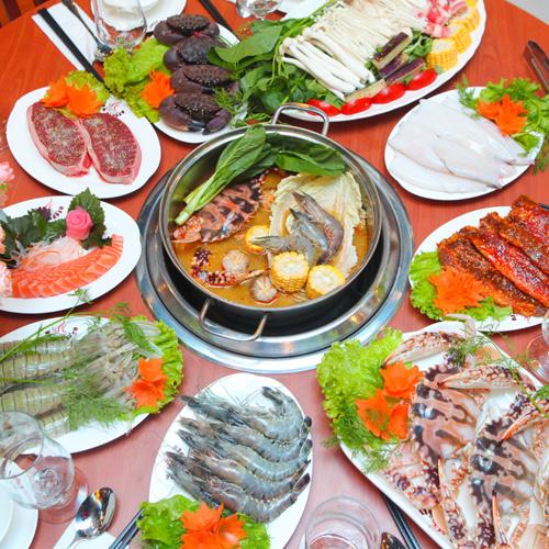 Buffet Lẩu Nướng Hải Sản BBQ Garden 163 Phố Huế