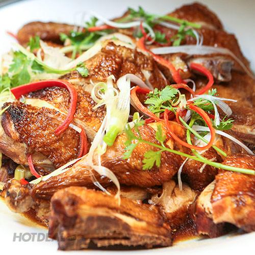 Buffet Gánh - Món Ăn Đặc Sắc 3 Miền (Buổi Trưa) - CN Khách Sạn Bông Sen
