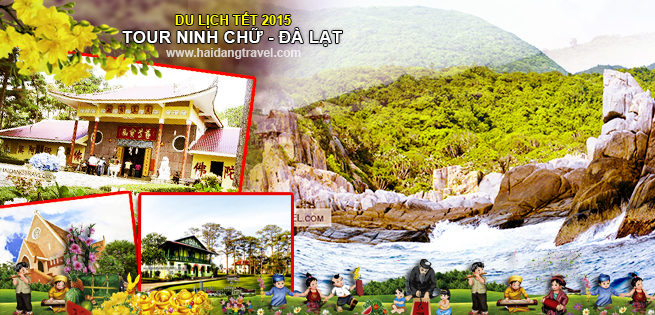 Tour Tết Ất Mùi –Ninh Chữ Đà Lạt 4N4Đ KS 2* tại Hồ Chí Minh