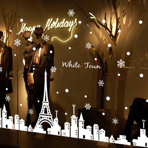 Decal Dạ Quang Giáng Sinh Paris