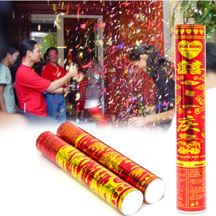 Combo 3 Cây Pháo (Hoa Đăng) Giấy Cho Ngày Tết tại Hồ Chí Minh
