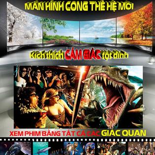 02 Vé Xem Phim 6D Tại Cinema City – Vincom Mega Mall Times City & Royal City