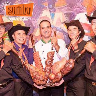 Buffet Trưa Thịt Nướng Samba