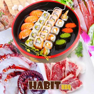 Buffet Nướng Lẩu – Habit BBQ Menu Special
