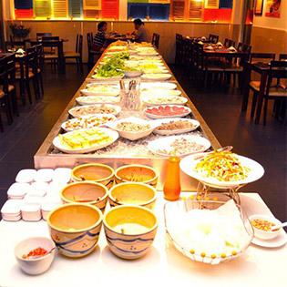 Buffet Lẩu Nhúng Tự Chọn Tại Nhà Hàng Ánh Sao (Phố Á Cũ) tại Hồ Chí Minh