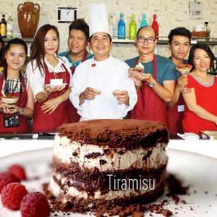 Học làm bánh Tiramisu Cùng Cooking Class By Chef Vu